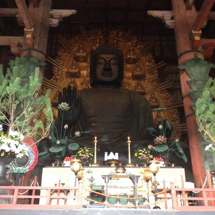 Dicas do Japão - Nara - Todai-ji - Buda