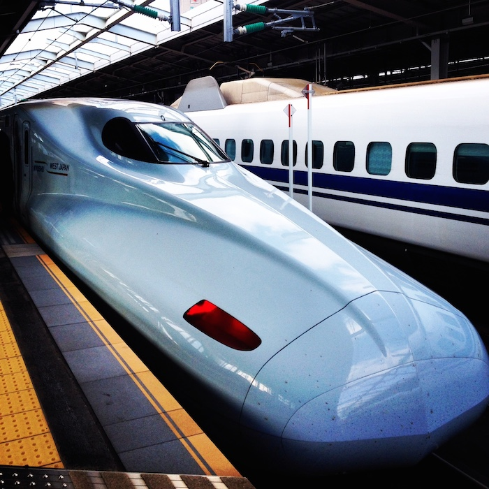 dicas do japão - Trem Bala
