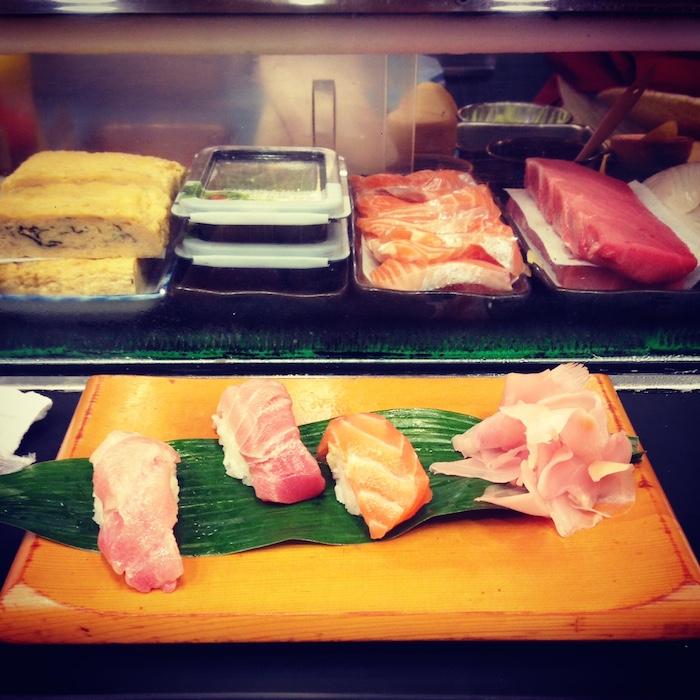 dicas do japão - sushi em Osaka