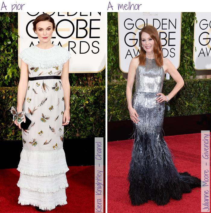 Looks do Red Carpet Golden Globes - a pior e a mais bem vestida