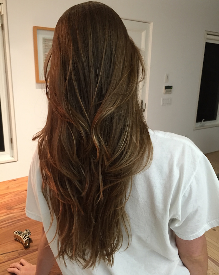 cuidados com o cabelo coque resultado