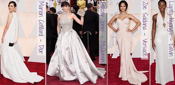 Oscar 2015 - looks do tapete vermelho - clarinhos