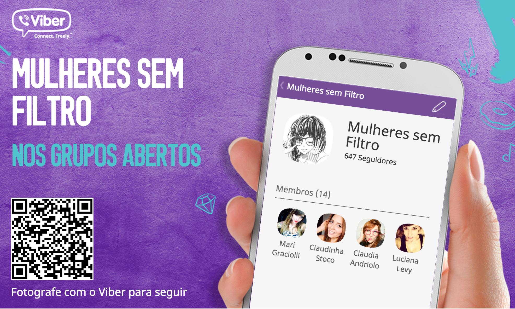 Grupos Abertos do Viber: O que são, como funcionam e como seguir a nova febra das redes sociais