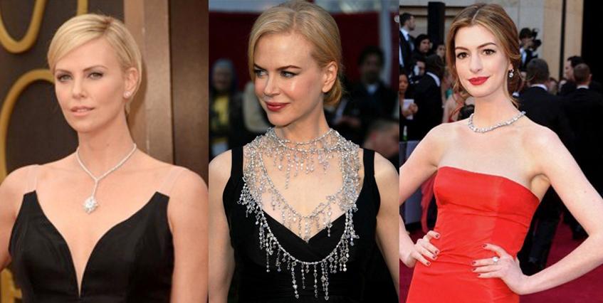 As joias mais caras do mundo no tapete vermelho do Oscar