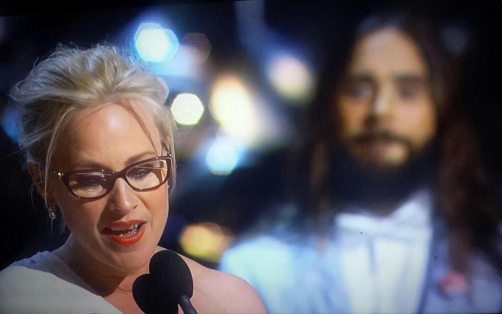melhores memes Oscar 2015 - patricia arquette e jesus cristo