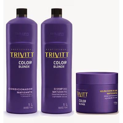 como cuidar dos cabelos loiros - matizacao