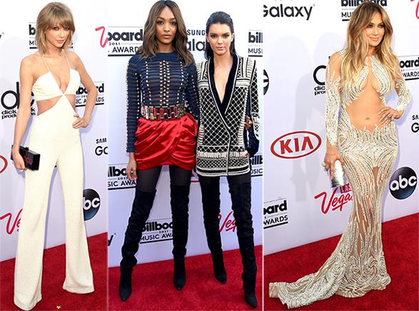 Billboard Music Awards 2015: os looks do Red Carpet, Balmain + H&M e Taylor Swift agarrando o trono de princesa do Pop