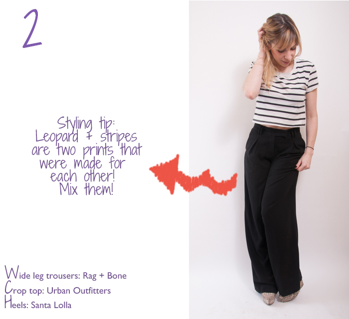 how to wear wide-leg trousers
