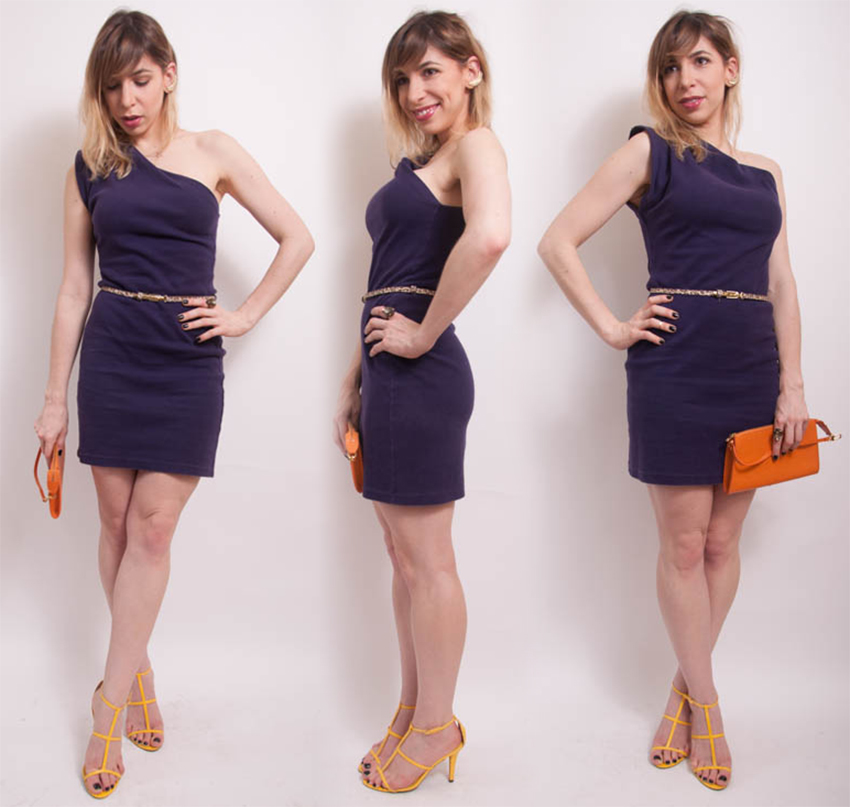 OutFIGHT of the Day: how to style a one-shoulder dress