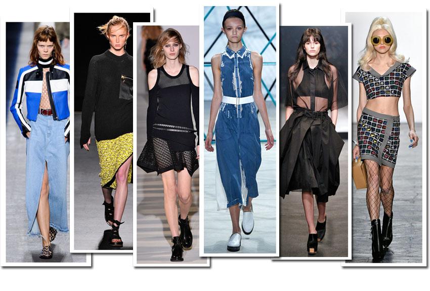 7 tendências de moda para o verão direto de Nova York