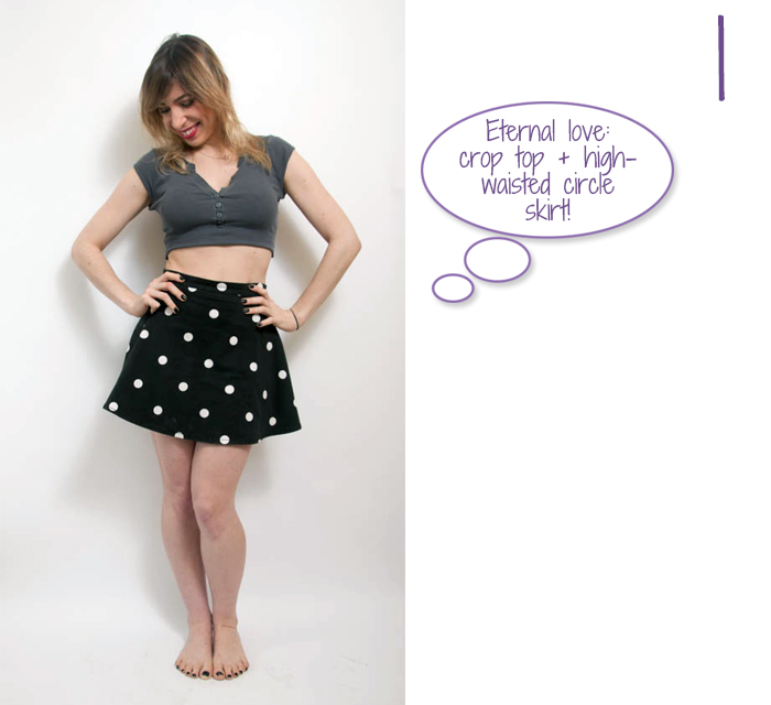 how to wear body chain with crop top 1