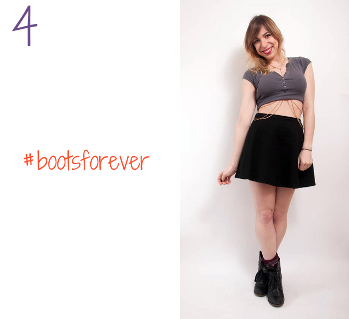 how to wear body chain with crop top 4