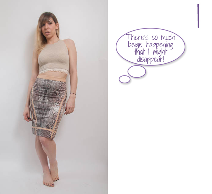 how to wear high waisted pencil skirt 1