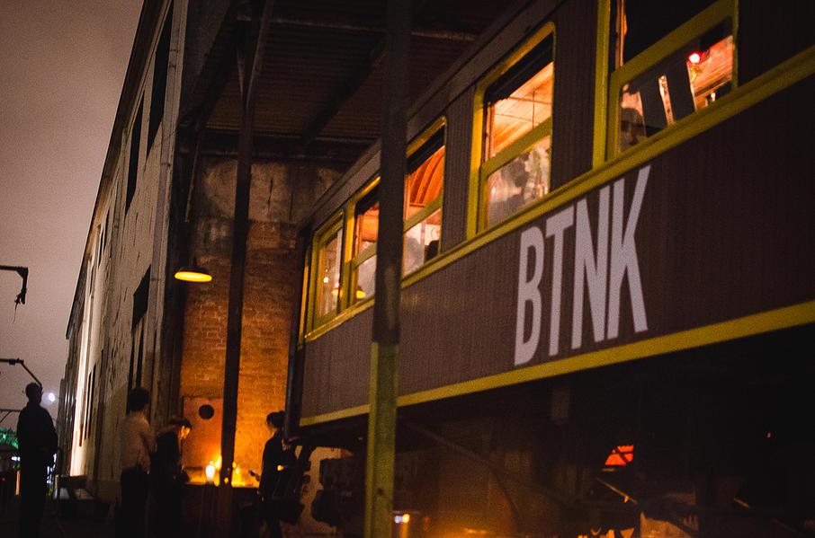 BTNK: restaurante dentro de um antigo vagão de trem em São Paulo!