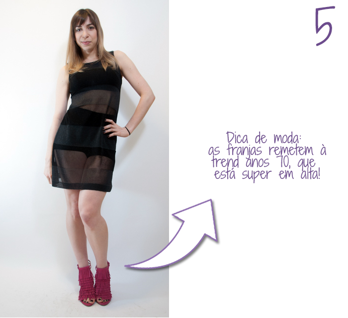 como usar hot pants com saia transparente 5