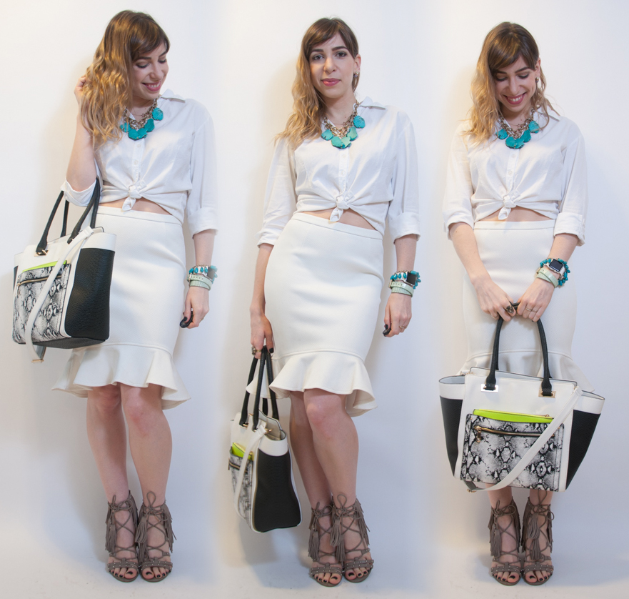 OutFIGHt of the Day: how to style an all-white look
