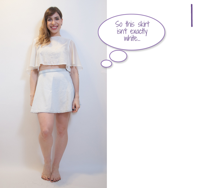 how to style all-white look 1