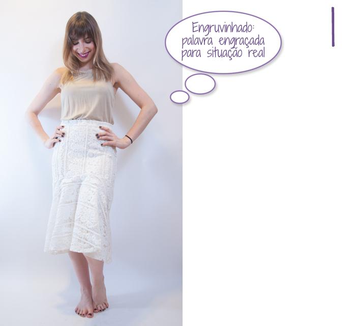 look do dia: como usar saia midi