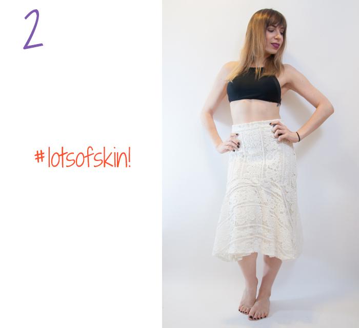 midi skirt look 2