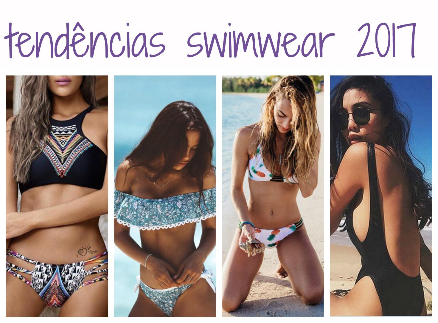 Moda: as maiores tendências de swimwear para o verão 2017