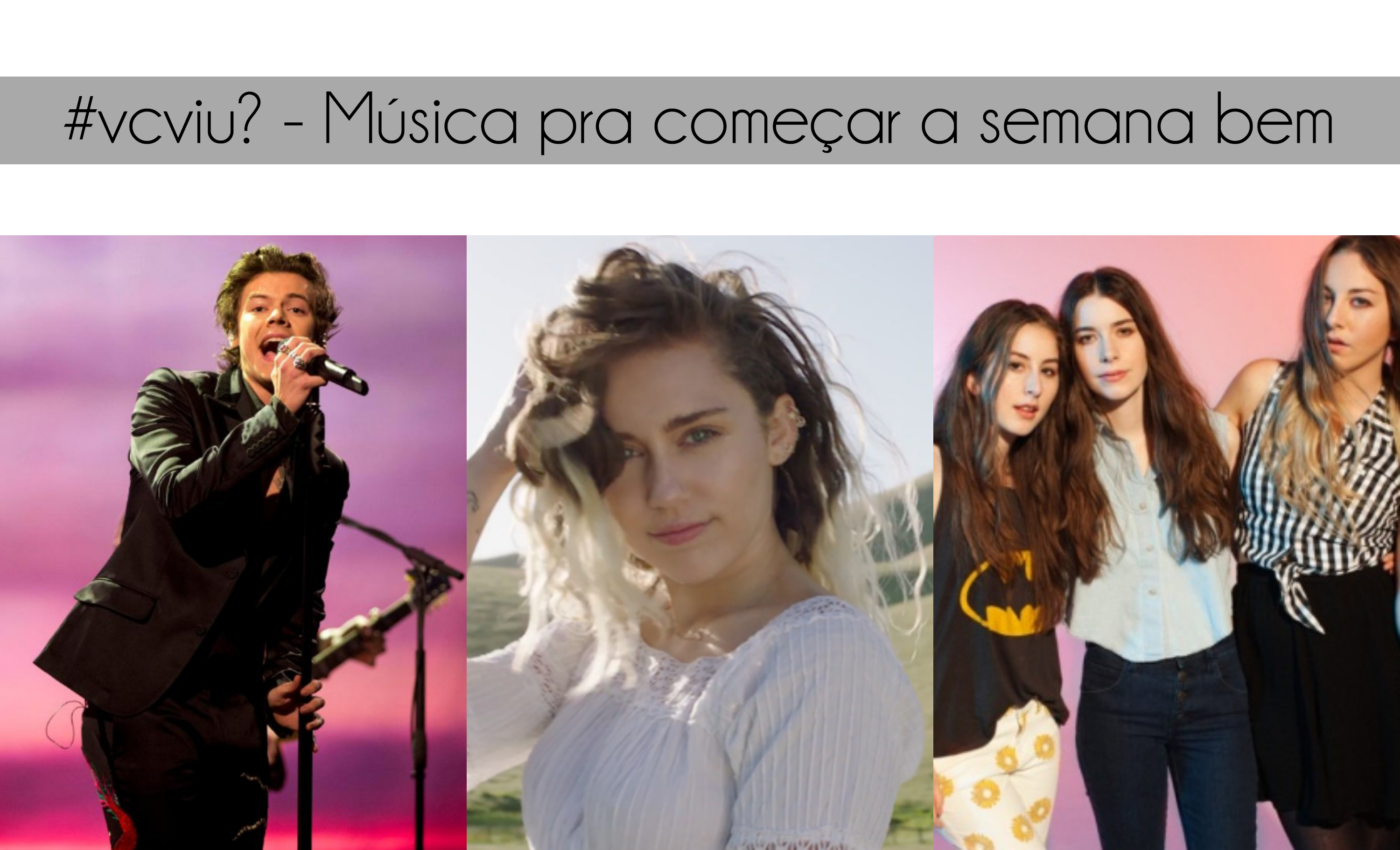 miley cyrus nova fase, harry styles solo, h